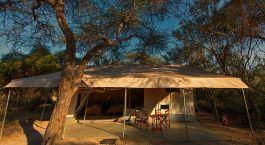 Gästezelt im Amboseli Porini Adventure Camp in Amboseli, Kenia