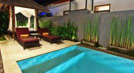 Pool at Puri Saron Hotel in Seminyak, Indonesia