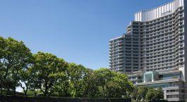 Außenansicht des Palace Hotels Tokyo in Tokio, Japan