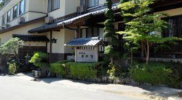 Außenansicht des Gora Sounkaku in Hakone, Japan