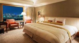 Double room at Grand Nikko Tokyo Daiba Hotel in Tokyo, Japan