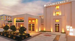 Exterior view of DoubleTree by Hilton Agra Hotel in Agra, North India
