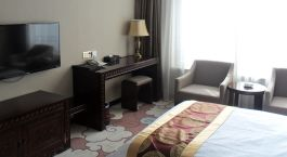 Enchanting Travels Tibet Tours Lhasa Hotels Tangka Hotel room tv