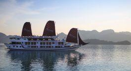 Exterior view of Stella Cruise Halong Bay Hotel, Halong Bay in Vietnam