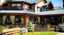 Exterior view of Patagonia Queen Hotel in El Calafate, Argentina