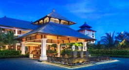 Enchanting Travels Indonesia Tours Bali Hotels St. Regis Nusa Dua Porte-Cochere-at-Dusk