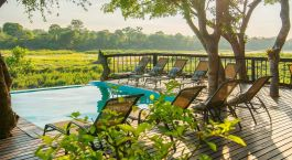 Pool at Umkumbe Safari Lodge in Kruger South, South Africa