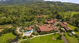 Enchanting Travels - Costa Rica Tours - Arenal Hotels - Arenal Springs - Aerial view