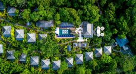 Enchanting Travels - Costa Rica Tours - Arenal Hotels - Nayara Springs - Aerial view