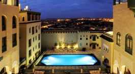 Pool at Palais Faraj in Fes, Morocco