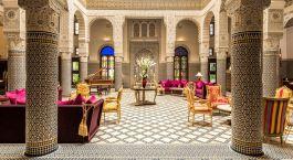 Enchanting Travels Morocco Tours Fes Hotels Riad Fes Riad Fes Lobby - Copie