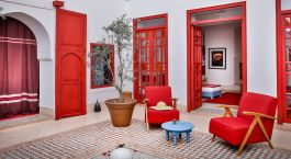 Private terrace at Dar Baraka & Karam in Marrakech, Morocco