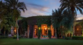 Exterior view of Dar Zemora Hotel in Marrakech, Morocco