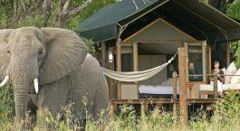 Enchanting Travels-Botswana Tours-Okavango Delta-Sanctuary Stanley's Camp-Exterior of the room