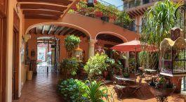 Enchanting Travels Mexico Tours Oaxaca Hotels Parador San Miguel Oaxaca Courtyard