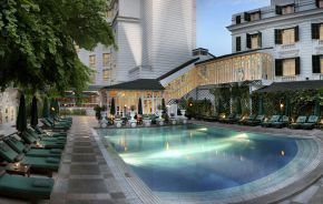 Pool at Sofitel Legend Metropole Hanoi Hotel in Hanoi, Vietnam