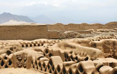 Chan Chan Ruinen in Trujillo Peru