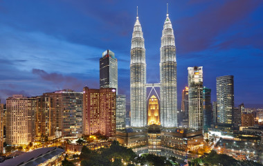 Gebäude in Kuala Lumpur, Malaysia