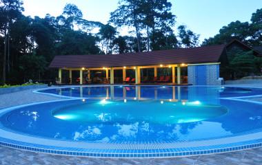 Pool at My Nature Resort, Sandakan, Malaysia