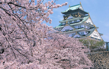 Osaka Castle 1600, Japan, Asia