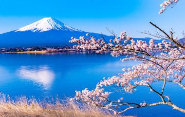 Enchanting Travels Japan Tours Landscape from Lake Kawaguchiko Nagasaki Park