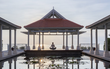 Enchanting Travels Thailand Tours Amatara Spa - Morning Yoga Class