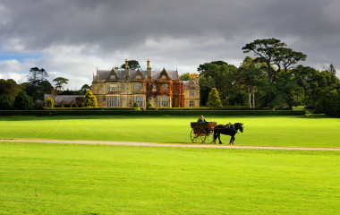 Muckross House and gardens in National Park Killarney, Ireland, Europe