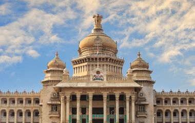 Prachtbauten in Bangalore, Südindien