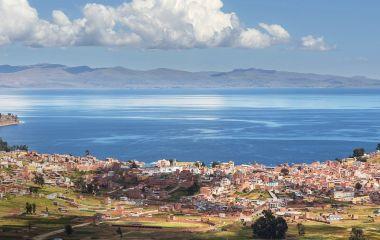 Copacabana ist das Tor zum Titicacasee Bolivien