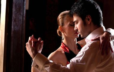 Tango dance, Buenos Aires, Argentina, South America