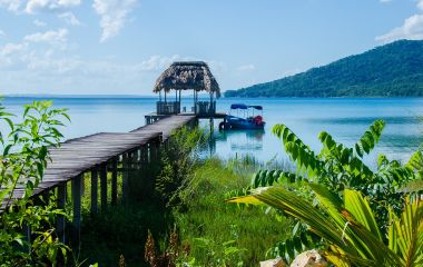 Enchanting Travels Guatemala Tours Calm Lake with pier