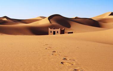 Sand dunes, Morocco, Erg Chebbi