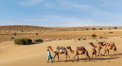 See Sensational Miles Of Nothingness In Jaisalmer