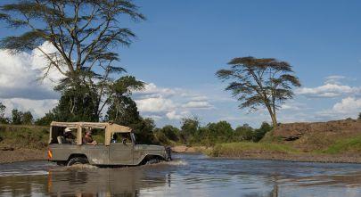 The Goal - Africa to Brazil Enchanting Travels-Kenya Tours-Laikipia-Ol Pejeta Bush Camp-river