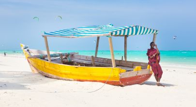 Maasai lounging at the beach - Things to do in Zanzibar