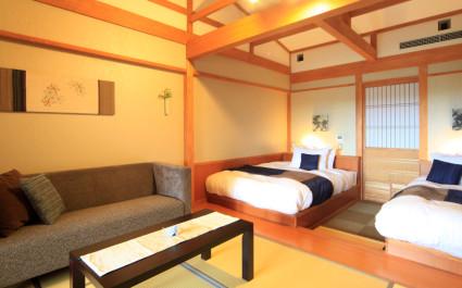 zimmer im Hotel Hoshokaku Takayama in Takayama, Japan