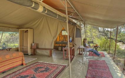 Gästezelt im Ol Pejeta Bush Camp in Laikipia - Community Reserve, Kenia