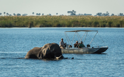 Enchanting Travels Botswana Tours Okavango Delta Linyati Wildlife Reserve Dumatau Camp (8)