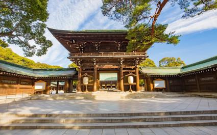 Meiji Shrine in Tokyo city
