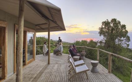 Bar im Hotel The Highlands, Tansania