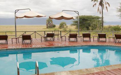 Pool at Maramboi Tented Camp, Tarangire, Tanzania