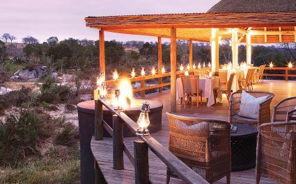 Dining Area, Kruger South Londolozi Founders Camp, Kruger, South Africa