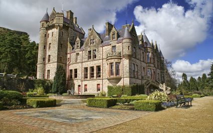 Enchanting Travels UK & Ireland Tours Picture of Belfast Castle in Northern Ireland