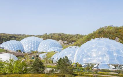 Enchanting Travels UK & Ireland Tours The Eden Project is a popular visitor attraction in Cornwall, England, UK