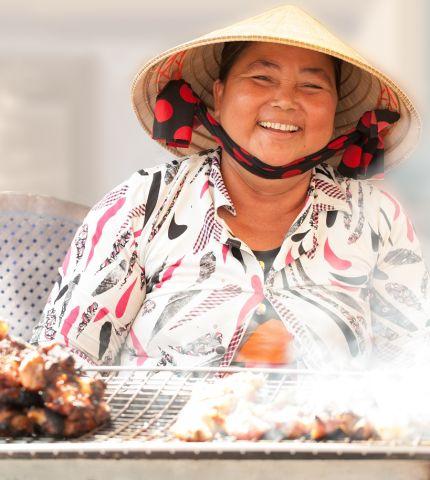 Asia Street Food Vendor