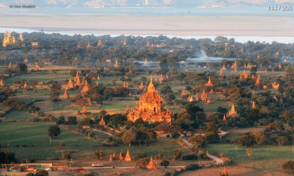 Myanmar Reisebericht - Bagan Panorama