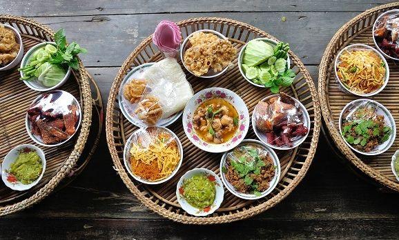 Traditionale Küche von Thailand