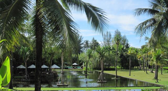 External view at hotel The Sarojin in Khao Lak, Thailand