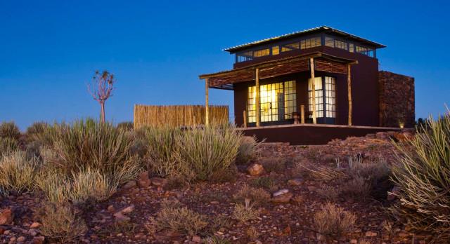 Exterior view at Fish River Lodge in Fish River Canyon, Namibia
