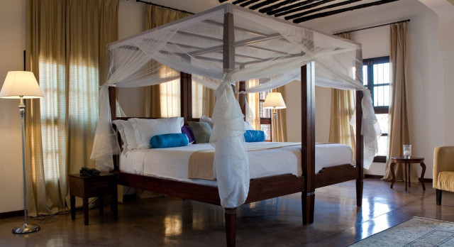 Enchanting Travels - Tanzania Tours - Stone Town - Kisiwa House - bedroom